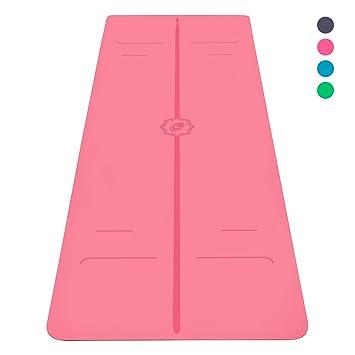 Liforme Le Tapis de Yoga Evolve Le Tapis de Yoga écologique et antidérapant  avec Un système 57f1357a140