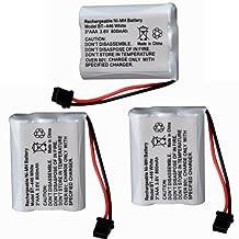 Masione™ 3-Pack 3.6V 800mAh Ni-MH Cordless Phone Battery for Uniden BT-446 TL- 96402 TL-26402 CPH-488B CPH488B