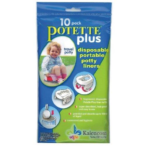 Potette Plus Liner Refills - 10 ct