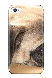 Tpu Case For Iphone 4/4s With Pug Dog