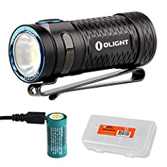 The Olight S1 MINI HCRI is an ultra compact high CRI flashlight. High CRI flashlights create a warm colored LED tint that resembles natural sunlight and more accurately produces the natural colors of objects when illuminated. The S1 MINI Bato...