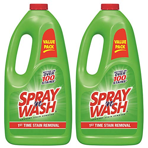 Spray 'N Wash Pre Treat Laundry Stain Remover Refill, 60 oz (Pack of 2) (Best Stain Remover Spray)
