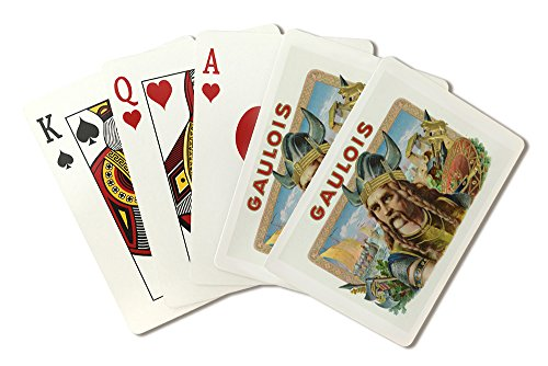 gaulois-brand-cigar-box-label-playing-card-deck-52-card-poker-size-with-jokers