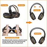 SIMOLIO 4 Pack of Car Kids Headphones with