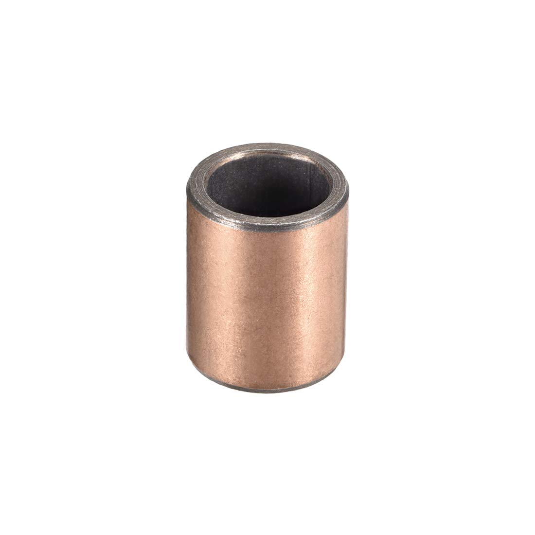 uxcell Sleeve Bearing 12mm Bore x 16mm OD x 20mm Length Plain Bearings Wrapped Oilless Bushings