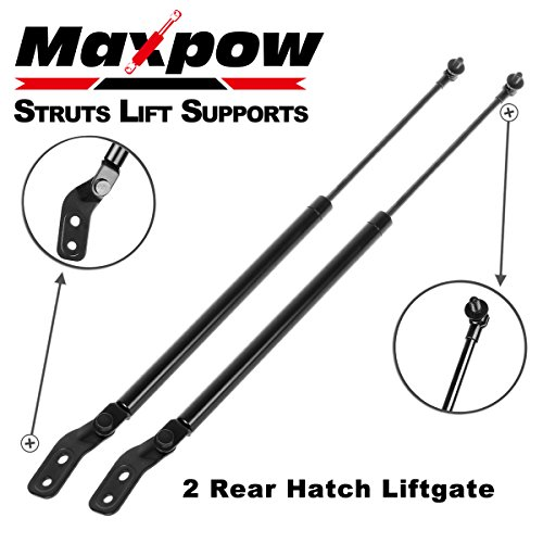 Maxpow 1Pair Rear Hatch Lift Supports Shocks Struts Compatible With 1993 1994 1995 1996 1997 Ford Probe With Spoiler