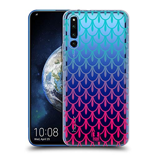 Head Case Designs Tiara Colourful Scales Hard Back Case Compatible for Huawei Honor Magic 2 ()