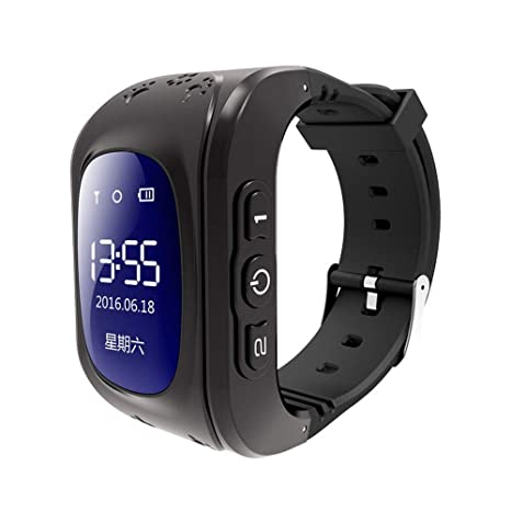 Amazon.com: Eleveny Q50 OLED - Reloj GPS para niños y niños ...