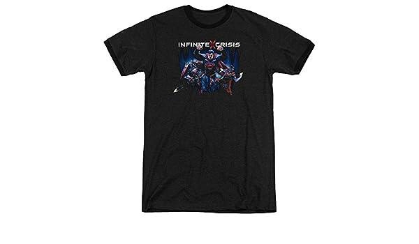Shirt Title Adult Ringer T Infinite Crisis