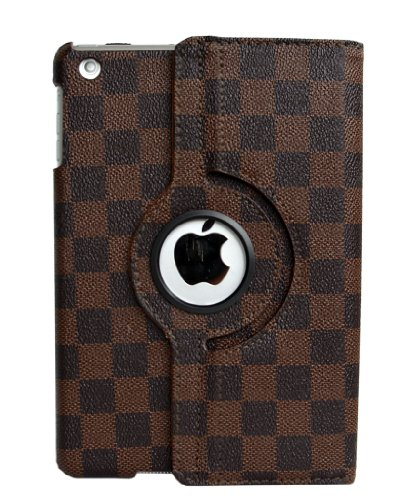 iPad Mini Case (1/2/3 Generation),inShang Checker Damier smart case/cover/stand for iPad mini 7.9