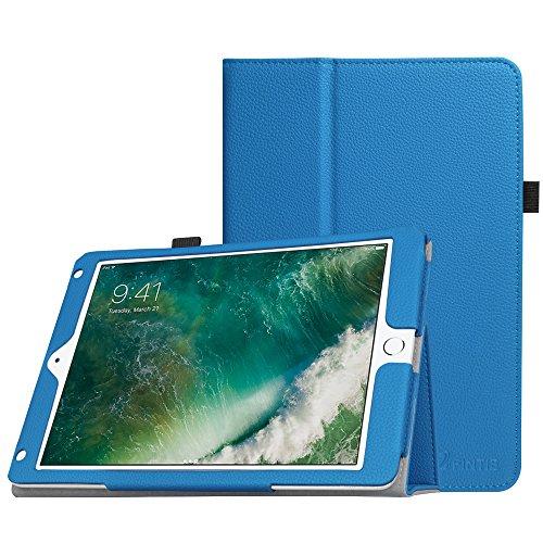 Fintie iPad 9.7 2018/2017, iPad Air 2, iPad Air Case - [Corner Protection] Premium Vegan Leather Folio Stand Cover, Auto Wake/Sleep for Apple iPad 6th / 5th Gen, iPad Air 1/2, Royal Blue