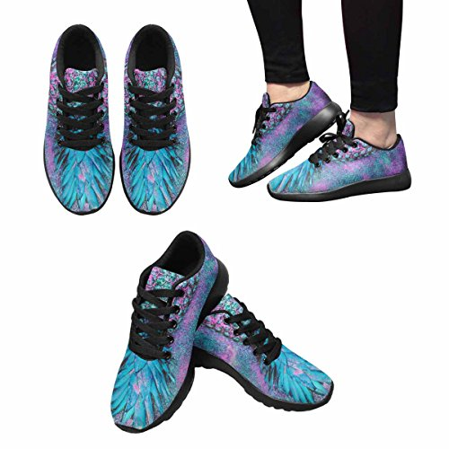 Interestprint Mujeres Jogging Running Sneaker Ligero Go Easy Walking Casual Comodidad Running Zapatos Glamour Pineapple Shine Minimalismo Multi 1