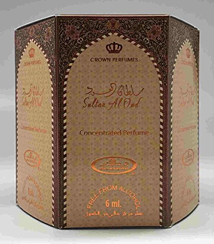 Sultan Al Oud - 6ml Roll-on Perfume Oil by AlRehab (Box of 6)