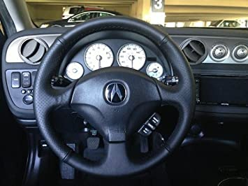 Amazoncom Acura RSX Steering Wheel Cover By RedlineGoods - Acura rsx steering wheel cover