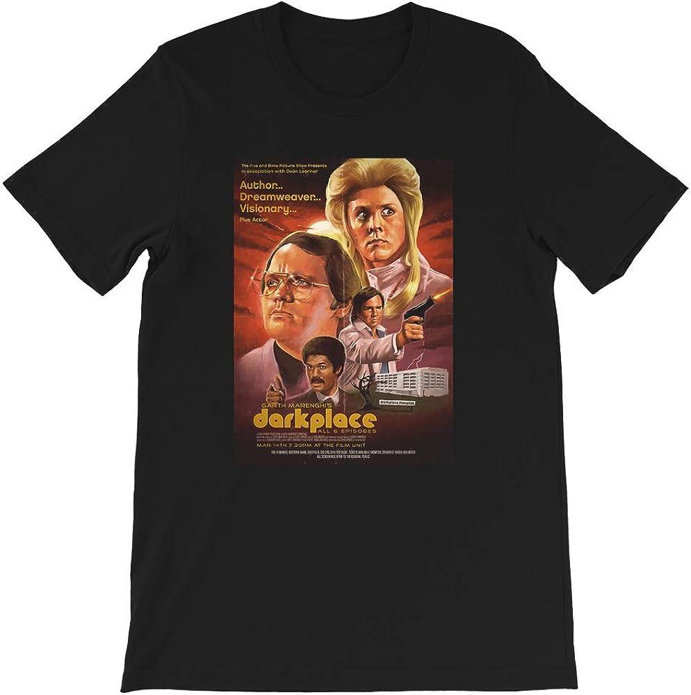 Garth marenghi Dark Place Poster Horror Sci Fi Murder Comedy Funny Gift for Men Women Girls Unisex T-Shirt
