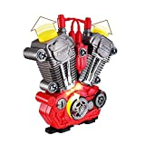 Studyset Simulate Motorcycle Engine Overhaul Play Set with Light Sound DIY Assembly Mechanic Kit Kids Educational Toy Gift