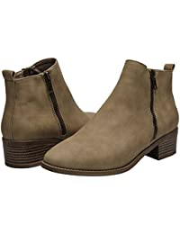 Ankle Boots for Women - Short Boots for Ladies w/Low...