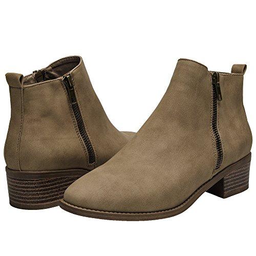 Short Womens Boots - 6