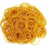 AMUU Rubber Bands 750pcs Size 25mm 1 inch Rubber Bands Small Rubber Band for Office Supplies School Home Elastic Hair Band