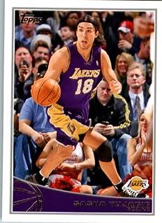 Topps 2009/10 Carte de Basketball NBA#131 Sasha Los Angeles Lakers Vujacic État