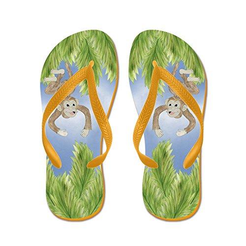 9fda466fa07d CafePress - Monkey Flip Flops - Flip Flops