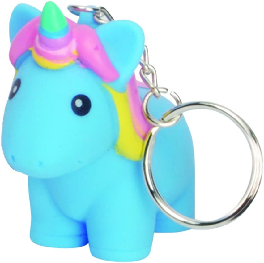 Amazon.com: Squeeze n caca purpurina Squishy unicornio ...