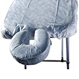 Master Massage Disposable Fitted Soft Headrest Cover for Massage...