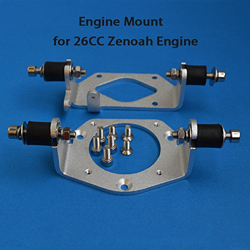 Amazon com: Alloy Engine Mount for 26CC Zenoah Engine of RC