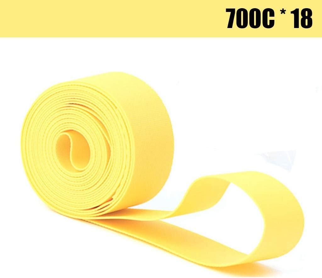 Bike Rim Tape,2 Pcs 1 Package Bicycle Rim Strip Rim Tape Tire Liner Protector 700C X 18 mm