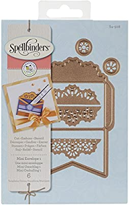 d71dc49893343 Amazon.com: Spellbinders S4-508 Envelope One for Scrapbooking, Mini