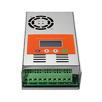 rungao MPPT 12 V/24 V/36 V/48 V reconocimiento automá tico DC sistema Solar controlador de carga regulador