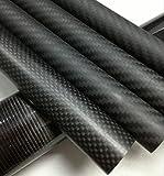 Abester 3K Matt Carbon Fiber Tube ID 32mm x OD 35mm x 1000mm DIY Wing Tube (1 piece)