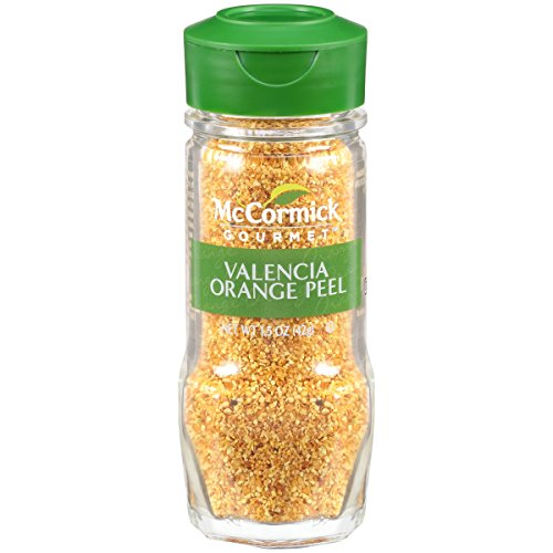 - McCormick Gourmet Valencia Orange Peel, 1.5 oz