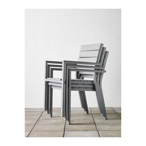 Ikea ArmlehnenGrauKücheamp; Falster – Stuhl Haushalt Mit LqUMVpzSG