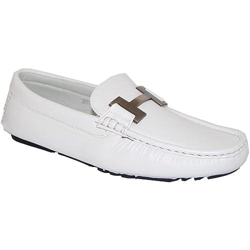 9080cd933806f Amazon.com   Shoe Artists Wonder White Loafer - Men (8D US ...
