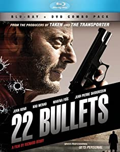 Cover Image for '22 Bullets BD+DVD Combo'