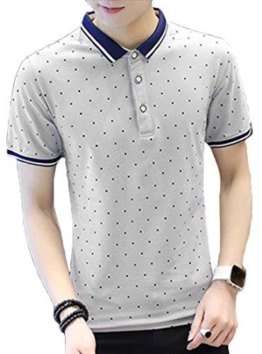 Heaven Days(ヘブンデイズ) ポロシャツ ゴルフシャツ Tシャツ ドット ヨット メンズ 1805D0537