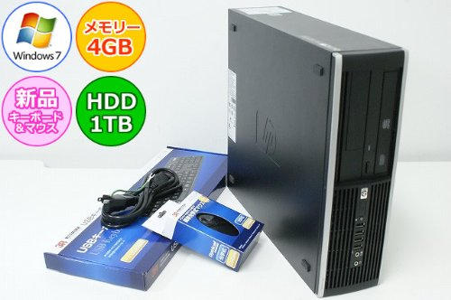 祝開店!大放出セール開催中 中古デスクトップパソコン 本体のみ Windows7 HP ヒューレットパッカード Compaq Windows7 6000 office) Pro 1TB(1000GB) SFF Core2Duo-2.93GHz メモリ4GB HDD 1TB(1000GB) DVD-ROM Windows7搭載 リカバリ領域あり office付き オフィス付き(open office) B00HVR1TVE, 買援隊2号店:ced79d90 --- arianechie.dominiotemporario.com