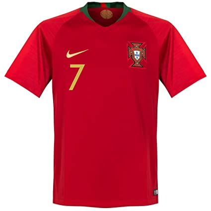 Image Unavailable. Image not available for. Color  NIKE Portugal Home  Ronaldo Jersey 2018 2019 Size Adult Small c7d199e47