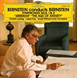 """Bernstein: Symphonies Nos. 1 & 2 """"Jeremiah"""" & """"Age of Anxiety"""""""