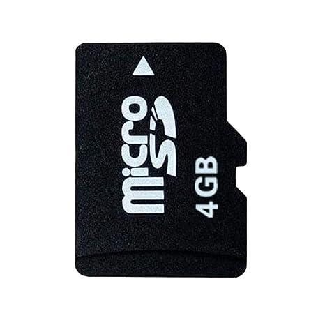 Ogquaton 1 PC Micro SD Tarjeta de Memoria Clase 4G Tarjeta ...