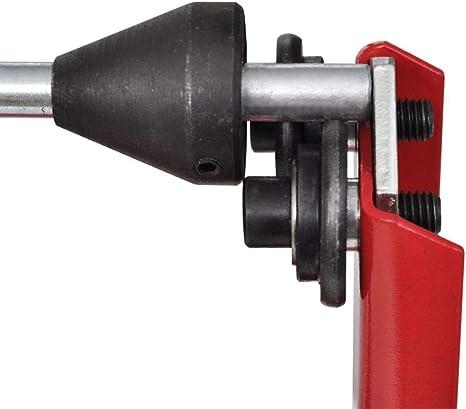 Professional Auswuchtger/ät Auswuchtbock f/ür Motorradreifen Roller Felgen Rot
