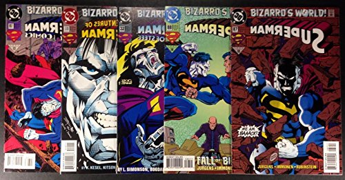 Superman Action (1994) 88 87 510 697 32 complete 5 pt Bizarro's World story Arc (Best Superman Story Arcs)