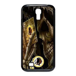 Christmas Gifts Custom Diydesign NFL Washington Redskins With Skull Poker Samsung Galaxy S4 I9500 Hard Plastic Durable Back Case Snap On hjbrhga1544