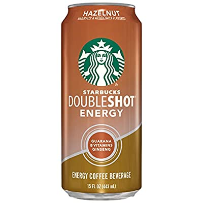 Starbucks Double Shot Energy Drink, Hazelnut