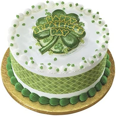 Wondrous Amazon Com Happy St Patricks Day Cake Layon Kitchen Dining Funny Birthday Cards Online Necthendildamsfinfo