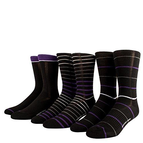 Clothing Women Geoffrey Beene (Geoffrey Beene Mens Socks Dress Socks 3 Pack Casual Socks Black Socks 10-13)