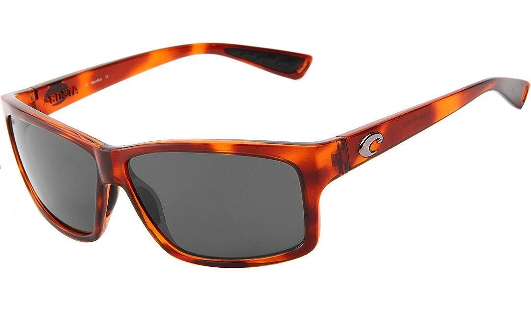 98336cef072 Amazon.com  Costa del Mar Cut Polarized Rectangular Sunglasses ...