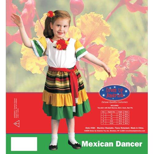 Mexican Dancer- Medium 8-10