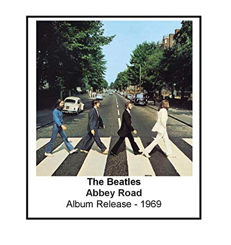 - The Beatles 1969 Abbey Road Album Cover 3